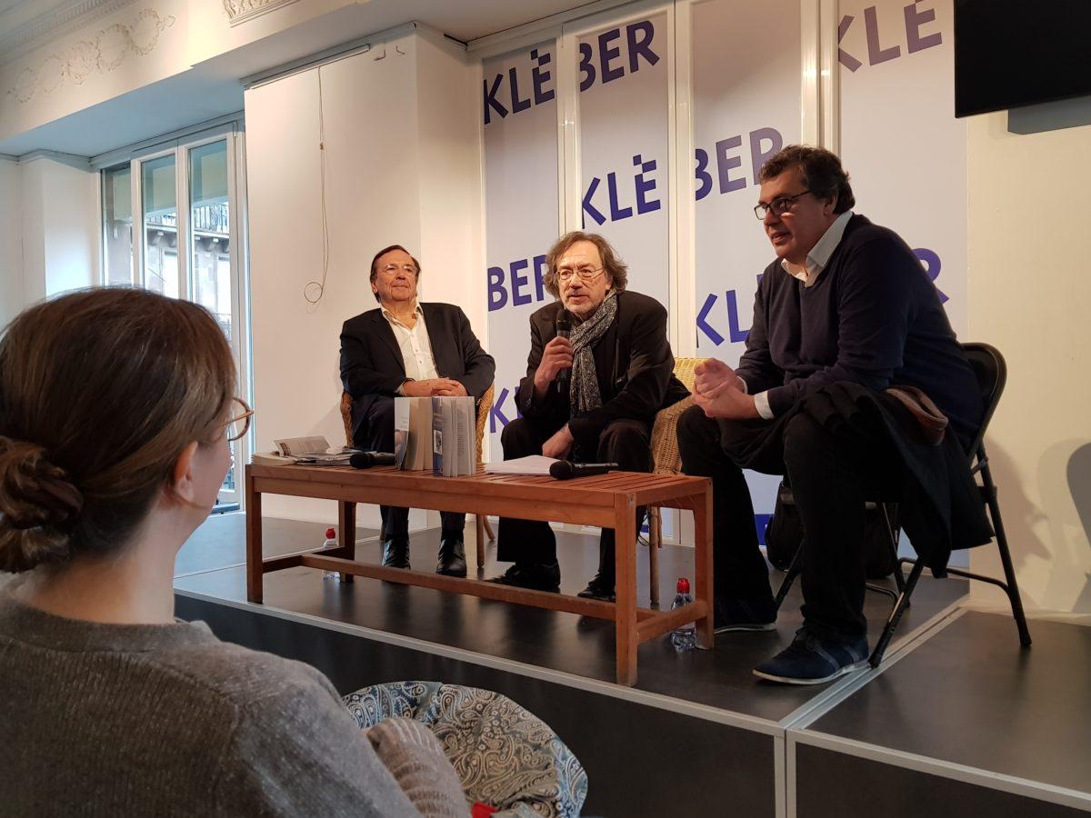 25/11/17 – Laurent Hincker participe à un débat-signature à la librairie Kleber de Strasbourg dans le cadre de la journée mondiale des violences faites aux femmes.