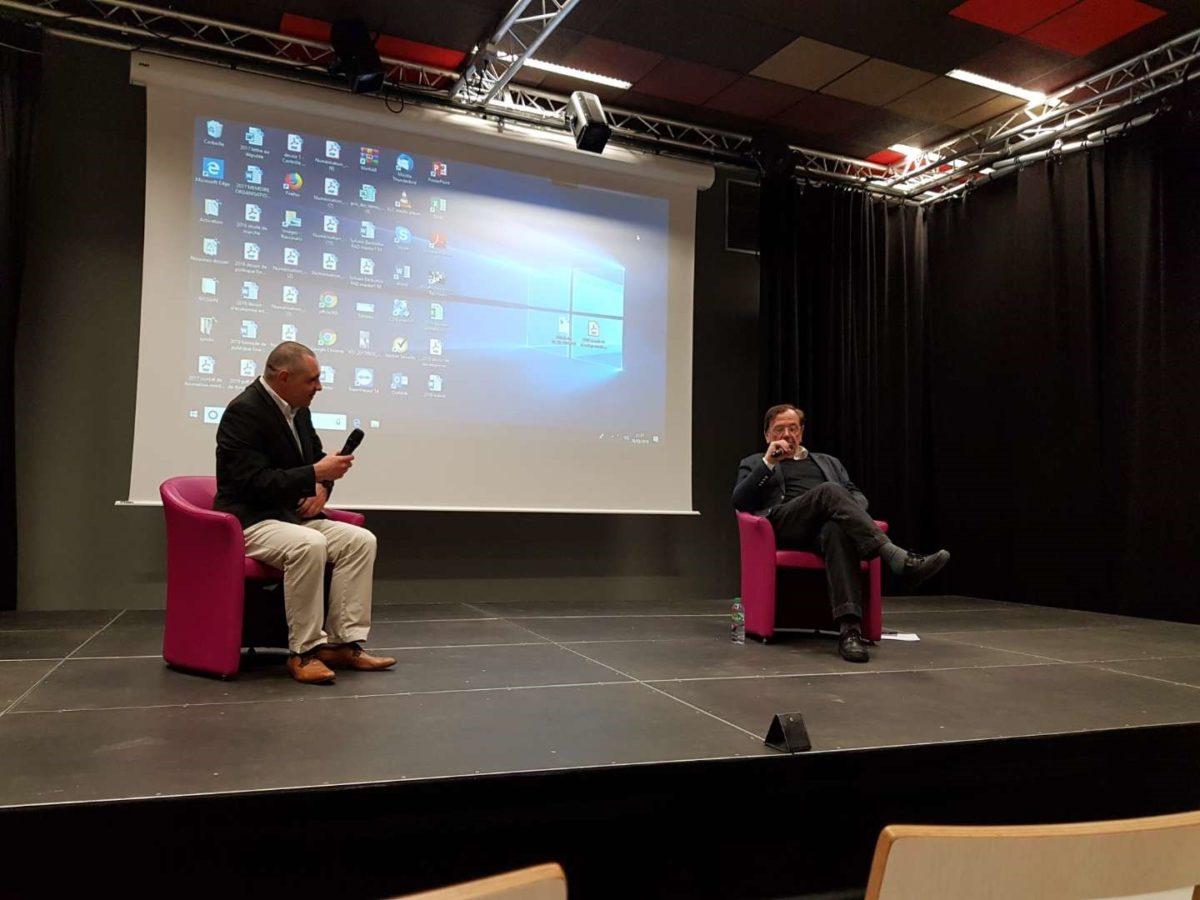 Conférence de maître Laurent Hincker sur le thème de la violence conjugale et du harcèlement moral.